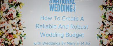 National Wedding Show Guest Speaker