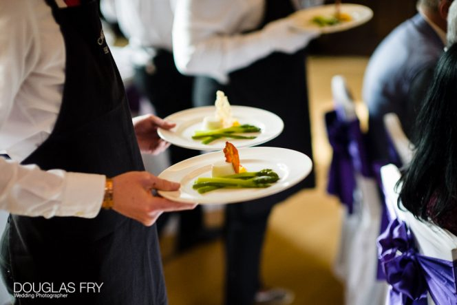 London Wedding Venue Caterer, Chester Boyd Catering / Photo: Douglas Fry Photography