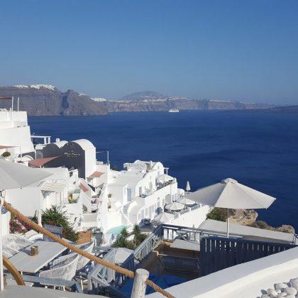 Santorini Honeymoon Destination / Photo: Weddings By Mary