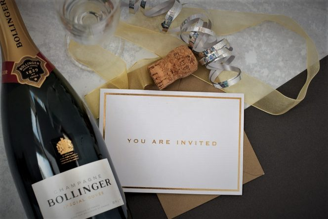 Party Celebrations with Bollinger / Photo: HJ-photography.co.uk