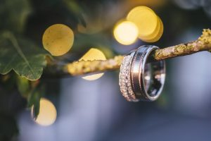 Wedding Rings / Photo: Rebecca Farries Photography