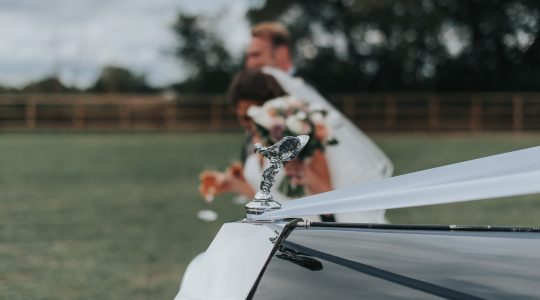 Wedding Car Transport / Photo: Studio Rouge Photography
