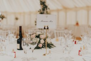 Wedding Tablescape, Essex Marquee Wedding / Photo: Studio Rouge Photography
