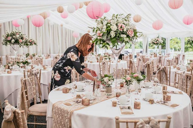 Mary Briscoe, Experienced & Professional Wedding Planner, Marquee Wedding | Rebecca Farries Photography